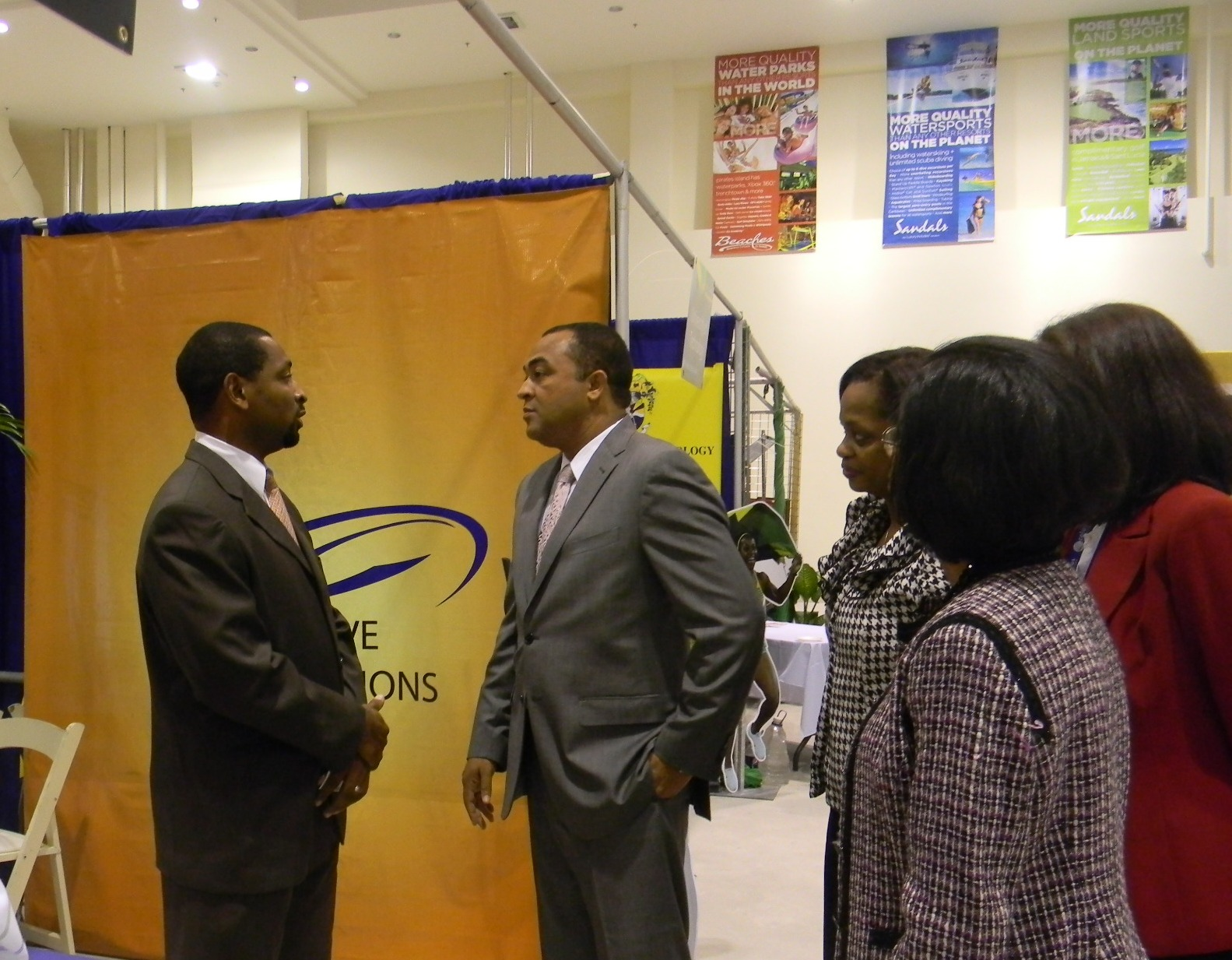 IVS CEO and Dr Christopher Tufton - Minister of Industry, Investment and Commerce